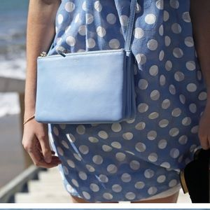 Celine Trio Bag Blue